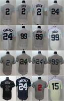 Wholesale Cheap Army Shorts - 99 Aaron Judge Jersey Cheap Mens New York 2 Derek Jeter 24 Gary Sanchez Flex Base Cool Base Baseball Jersey Mix Order