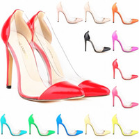 Wholesale Ivory Girl Shoes For Wedding - Summer Hot Office Shoes Girls Fashion Brand High heel Shoe Girls Sexy Brand pumps for Wedding Women Leather Dress shoes high heels FS007