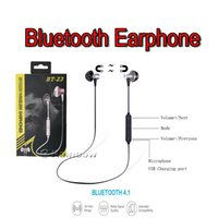 Wholesale Play Magnets - 2017 Newest Bluetooth Sport Earphone, Magnet Attraction, Long Music Playing Time With Voice Prompt For iPhone, Android, Universal Compatible