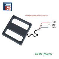 Wholesale Range Reader - High quality 1m middle range rfid reader proximity 125Khz reader with RS232 interface for EM4100 chip cards