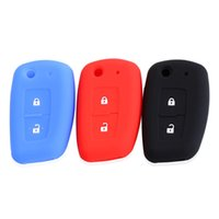 Wholesale Nissan Geniss - 2 Buttons Silicone car key Cover For Nissan Qashqai X-trail Murano Maxima Altima Juke Geniss QUEST Livina Tiida key