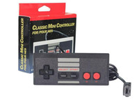 Wholesale gaming controller accessories resale online - Gaming Controller NES CLASSIC MINI Edition Joysticks m Extension Cable Gamepad With Box Game Accessories with retail box