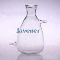 Wholesale Vacuum Filter Filtering Flasks - Wholesale- 125ml Glass Filtering Flask Lab Filtration Bottle Double 10mm Hose Vacuum Adapter Glassware