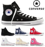 Wholesale Canvas Shoes High Top Women - Original Converse Chuck Tay Lor All Star Shoes For Men Women Brand Converses Sneakers Casual High Top Classic Skateboarding Canvas Cheap