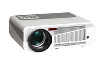 Wholesale Data Show - Wholesale-Big discount Low Price 5500lumens 220W LED lamp Home HD projector data show multimedia 3d projektor 2HDMI USB for video game