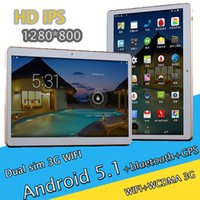 Wholesale Tablet 3g 16g - High-quality 9.6 inch Dual Sim Smart tablet PC 3G WIFI 4 Core MTK6582 1G Rom + 16G Panel Computer