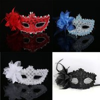 Sexy Venetian Style Party Lace Eye Masks FlowerFeather Masquerade Ball Carnival Fancy Dress