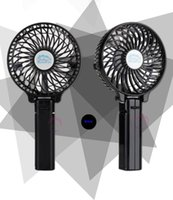 Wholesale Clamp Fans - Hot selling clamp and hang hand fan HF-308 rechargeable built-in 2200mAh battery four color optional