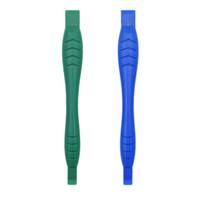 tablet pc verde al por mayor-118mm Azul Verde Fibra de Carbono Endurecido Plástico Doble Fin Herramienta de Reparación de Palanca Herramientas de Apertura Crowbar Spudger para Celular Tablet PC 500 unids
