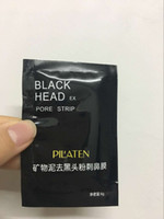 Wholesale mineral mask - PILATEN Facial Minerals Conk Nose Blackhead Remover Mask Facial Mask Nose Blackhead Cleaner 6g pcs Free Shipping