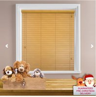 Wholesale Wood Blinds Horizontal - Wholesale-FREE SHIPPING !TIMBER VENETIAN BLINDS REAL WOOD-- MADE TO MEASURE 5CM & 3.5CM WIDTH SLATS