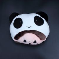 Wholesale Cartoon Headrest - Monchhichi cartoon headrest neck pillow kaozhen neck pillow car accessories FREE SHIPPING