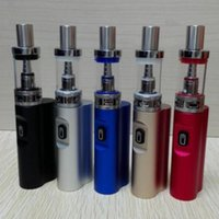 Wholesale Electronic Cigarette Pen Mod - E-cigarette Jomo Lite 40 Box mod 2200mAh 40w with 3ml Glass Tank Electronic cigarette vapor pen starter Mod Kit VS subox mini