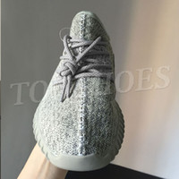 dove men Canada - Kanye 350 Shoe Men Sports Shoes Running Shoe 350 Turtle Dove Boost Oxford Tan Pirate Black Moon Rock Women Boost 350 Sneakers