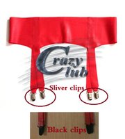 Wholesale Sexy Latex Garters - Wholesale-Crazy club_New arrival Top Fashion Limited Erotic Lingerie Sexy Garter stockings latex Zentai Custom size For free Fast Delivery