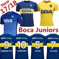 ... Boca Juniors 2017 2018 camiseta de futbol Adult man soccer jerseys 17 18  Argentina Club football ... 29388e6670bcc