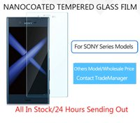 Wholesale Xperia Z Protective Cover - YUMQUA Factory Screen Protector For SONY Z L36H Z1 L39H Tempered Glass Protective Film Cover Sony z2 z3 z4 z5 mini plus Premium