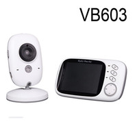 Wholesale Lcd Dot Display - VB603 Video Baby Monitor 2.4G Wireless with 3.2 Inches LCD 2 Way Audio Talk Night Vision Surveillance Security Camera Babysitter