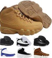 Wholesale Womens Size Leather Shoes - Cheap Retro 9 Basketball Shoes Men Women Retro Shoes 9s Zapatillas Deportivas Mens Womens Replicas Authentic Sport Sneakers Size US7-13