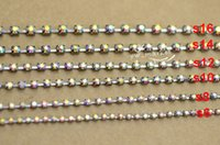 Wholesale Crystal Ss14 - SS6 SS8 SS10 SS12 SS14 SS16 SS38 AB Crystal Rhinestone Chain Gun Black Sewing Accessories