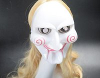 Wholesale Party Mask Making - a11 Wholesale Factory Outlet Halloween Theme Mask Saw killer Terrorist Kill party positives