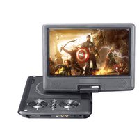 Tragbares Evd Spielerspiel Kaufen -Großhandel Neue 9-Zoll-DVD-Player TFT-Bildschirm Display Portable DVD EVD Player TV VCD CD MP3 / 4 USB-Spiel Mobile TV für EU-Steckdose