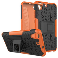 Wholesale hard plastic tire online - For Huawei Y6 II Mate Pro Samsung Galaxy NOTE8 J2 Prime Shockproof Tire Tyre TPU PC Hard Case Hybrid Dazzle Stand Armor Phone Skin Cover