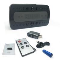 movimento ativado câmera despertador venda por atacado-Hd 1080 p despertador mini câmera com motion ativado noite de gravação de vídeo de visão por controle remoto para vigilância de segurança em casa