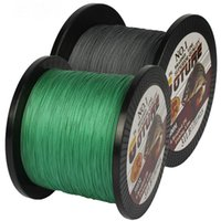 Wholesale Braided Fishing Line 12lb - Braided Fishing Line 500m Smooth Multifilament PE 4 Strands Braided Cord 12LB - 50LB Strong Japan Technology