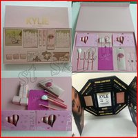 Wholesale Color Bug Set - kylie jenner I WANT IT ALL makeup set Take me on vacation Send me more nudes Ultia glow,The wet set and June bug Birthday Edition Collection