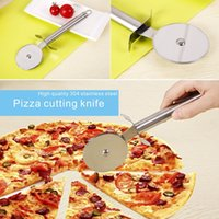 Wholesale Custom Pizza - High Quality 304 Stainless Steel Pizza Cutting Knife Specifically For The Pizza Cut Custom Tool Home Hotel Kitchen Supplies