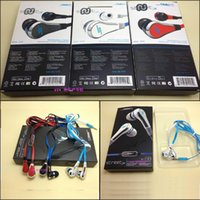 Wholesale Street Earphones - Hotsale Mini 50 cent with mic and mute button SMS Audio In-Ear headphones earphone STREET by 50 Cent high quality cheap&fine ONE