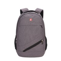 Wholesale classical backpacks - 2017 New European designer backpack women men bag canvas famous brand name travel sports school backpacks classical style