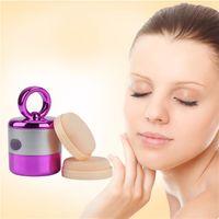 Wholesale Smart Puff - 3D Electric Cosmetic Powder Puff Vibration Smart Foundation Face Powder Sponge Vibrator Makeup Beauty Spa Tool Vibrate Massage