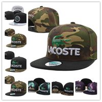 Wholesale Snapbacks Wholesale Prices - crocodile snapbacks basketball team hats basketball football baseball caps outdoor sports caps top quality headwears factory price