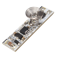 Wholesale Lamp Control Module - Freeshipping 6pcs\Lot 9 -24V 30W Touch Switch Capacitive Sensor Module LED Dimming Control Lamps Active Components 40X10X1.2mm Board
