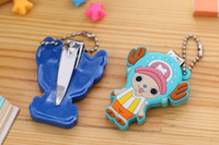 Wholesale Kids Clipper - Creative Cartoon Baby Nail Clipper Infant Kids Finger Trimmer Scissors Baby Nail Care with Hanging Children's Nail Care