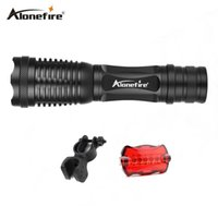 Wholesale Head Flashlight Dive - AloneFire E007 CREE XML-T6 3800LM zoom Flashlight LED Cycling Bike Bicycle Front Head Light