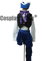 Книга цирка Cosplay Black Butler Kuroshitsuji Ciel Cosplay Costume Dress