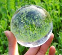 Wholesale Green Crystal Sphere - 100mm Asian Rare Quartz Clear Magic Crystal Healing Ball Sphere AAA
