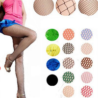 Wholesale White Fashion Pantyhose - Wholesale - Sexy Socks for Women Fashion Fishnet stockings Ladies Fishnet Net Pattern Burlesque Hoise Pantyhose Tights BA062