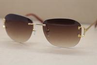 Wholesale trend sunglasses for women - Newest Fashion Trend Sunglasses Brand Quality 2017 Hot Sunglasses for Women Low Price UV400 Protection Sunglasses 4193828 Rimless Sungl
