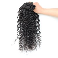 Wholesale One Bundle 14 Peruvian - Wholesale-Mink Brazilian Deep Wave One Bundles Brazilian Deep Curly Virgin Hair 7A Unprocessed Virgin Hair Brazilian Deep Wave Virgin Hair