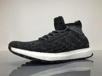 Wholesale Mens Energy - 2017 UltraBoost ATR Mid Oreo S82036 Running Shoes Real Boost Endiess Energy Sneakers for Mens Ultra Boost Grey CG3000 Burgundy Oreo