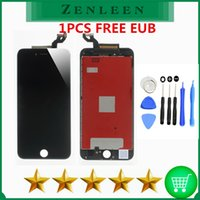 Wholesale Iphone Lcd Repair Kit - 1PCS Free EUB for iphone 6s plus LCD Touch Digitizer Full Assembly Grade AAA No Dead Pixel Perfect screen Free repair tool kit