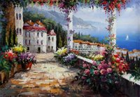 Wholesale Landscape Scenery Paintings - 2017 new Diamond Embroidery needlework diy Diamond painting Cross Stitch Kits Rural scenery full round diamond mosaic Room Decor YY0042