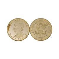 antique american folk art UK - 10pcs 2017 Vice-president Mike Pence of American Presidential Commemorative Coin Trump's Partner Novelty Coins Collectible Gifts
