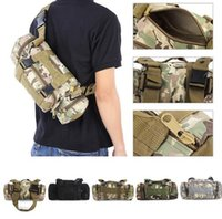 Wholesale Bike Carry - Tactical Camping Hiking Bike Climbing Sport Military Army Travel Waist Pack Hand Carry Pouch Shoulder Bag Tactical Bags