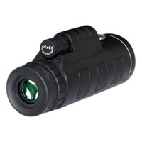 Wholesale Handheld Compass - Day and Night Vision HD 40x60 Handheld Optical Monocular Outdoor Camping Hunting Telescope Zoom With Compass Tripod Phone Clip MOQ:50PCS