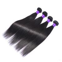 saç örgüsü şirketi toptan satış-Mocha saç şirketi brezilyalı saç cexxy saç düz demetleri 3 adet lot arapsaçı ücretsiz hiçbir döken Bohemian saç örgü